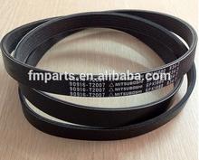 for corolla fan belt for toyota cars oem:90916-t2007 6pk1880