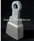 bimetal chrome alloy hammers