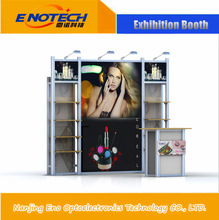 2015 Hot Sale Custom Standard Exhibition Expo Booth Display , Fashion Fabric Trade Show Booths
