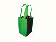 TDC Exhibitor,D&B checked and BV verified Customized jute wine tote bag
