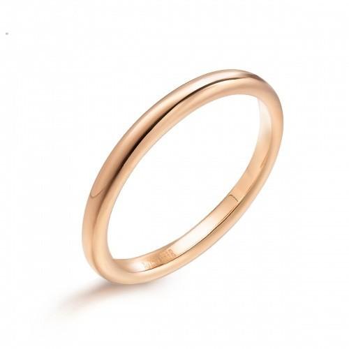 plain 1 gram gold ring