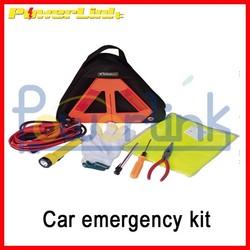 S80147 Highway Safety Car Emergency Tools Road Assistance Kit Warning Vest Emergency Kit