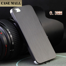 CaseMall 2015 0.3mm ultra thin case for apple iphone 5, titanium alloy case for iphone5