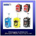 CHILDREN SCHOOL TROLLEY BAGS 2015 TRAVEL USING CUTE PC BAGS