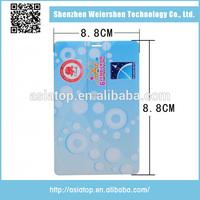 Popular card shape low price 2gb business card usb