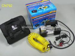 PRICE HEAVY DUTY TIRE TYRE INFLATOR PORTABLE MINI CAR PUMP 12V AIR COMPRESSOR
