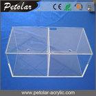 high quality square large acrylic fish tank