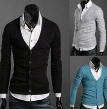 Fancy button deep V neck fashion t-shirts alibaba supplier wholesale funky men T-shirts
