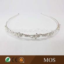 Stylish bridal crown ,princess rhinestone tiaras,girls flower crown