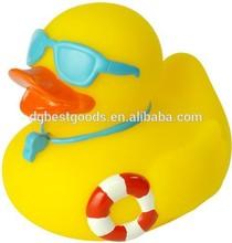 Bath Rubber Duck, Hot Selling Vinyl Duck, Squirter Ducks. Sunglass rubber duck
