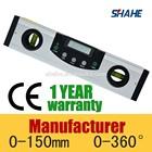 225mm length very high precision digital spirit level measurement tool