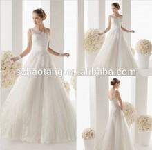 High Neck One Shoulder White Tulle Lace Vintage Wedding Dresses 2015 Ball Gown Bridal Gowns Vestidos De Noiva Longo