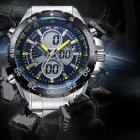 New product WEIDE watches high end watch bands 3 atm water resistant backlight multifunction waistwatch WH1103-5