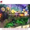 Personnalisé géant artificielle fleurs et plantes pour l'aménagement paysager