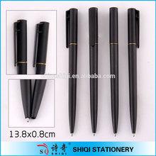 Hotel pen, twist plastic slim ballpen