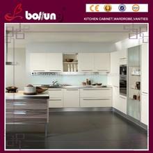Professional Office Furniture PVC Membrane kitchen cabinet
