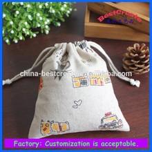 2015 cheap best design colorful cotton drawstring bag,cheap pure cotton drawstring bag,cheap cotton tote bag wholesale