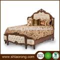 antigo de madeira cama king size
