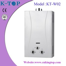 2015 LPG hot sale instant gas water heater low pressure / gas geyser with stable quality capacity 6-24L