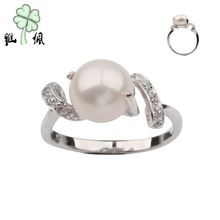 Cheap & High Quality Jewelry Fashion Sterling Silver Pearl Ring Settings