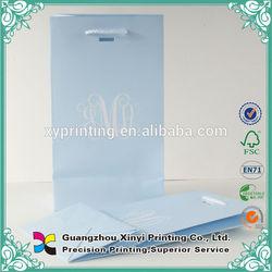 Alibaba China popular gift shopping bag custom printed folder bag