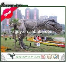 Silicone rubber custom realistic dinosaur king toys