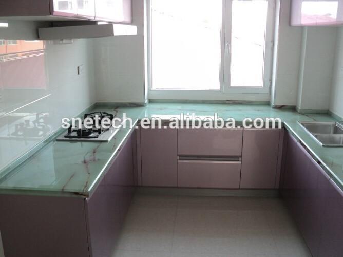 Cheap Kitchen Countertops Quartz Countertop Molded Sink Countertop ...