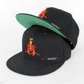 6 panel de sombrero del deporte, el panel 6 sombrero bordado, el panel 6 strapback sombrero