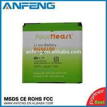 NEW OEM Four heart Akku BG86100 battery for HTC EVO 3D BG86100 Pyramid Rider