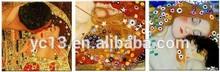 3pcs panel klimt artist reproduction ,masterpieces copy oil painting PL-117