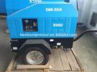 portable diesel screw air compresor for sale 14.5bar