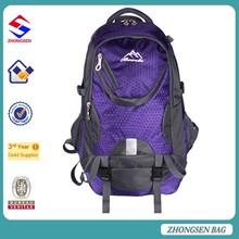 Nylon top quality travel backpack bag travel