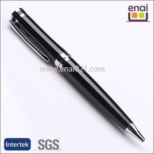 Artigos Papelaria School Supplies Canetas metal ball pen with silver ring