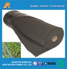 cheap recyclable black agricultural nonwoven weed-control fabric