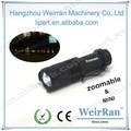 ( 120091 ) alumínio bateria zoomable AA pequeno à prova d ' água lanterna