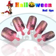 Top sell good price halloween fake nail tip artificial fake nails