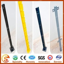 Different style pole steel metal fence pale fence post for sale
