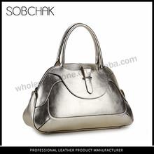 2015 hot selling famous brand latest design women leather tote bag handbag