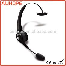 Multi-point NFC function single-side 10m work range bluetooth call center headset usb