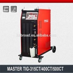 inverter multi-functions AC DC pulse TIG+MMA welding machine (MasterTIG400CT)