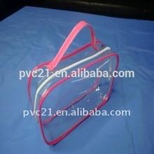 Dongguan customized pen plastic pvc bag,clear plastic ziplock bag