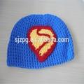 Crochet chapéu artesanal, crochet bebê chapéu, infantil chapéu do crochet