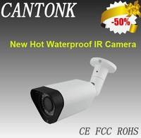 OEM/ODM Turnkey Projects/Security Waterproof IR/PAL/NTSC LED Array Surveillance Camera, 700TVL Resolution