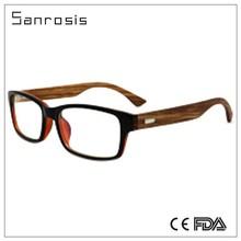New high end polarized bamboo peace sunglasses
