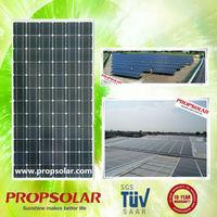 25 years warranty A grade low cost china 300w price per watt solar panel