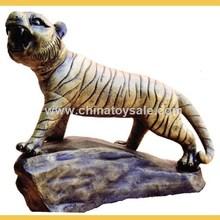 China large tiger metal garden sculpture for sale