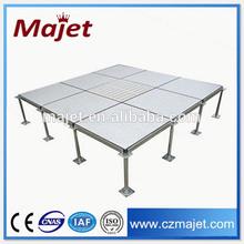 2015 hot sale Data Center 600x600mm ceramic raised floor HPL/PVC covering material