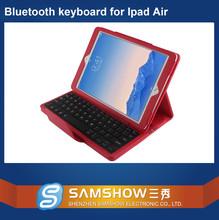 The Latest Version Mini Pu Leather Detachable Wireless Bluetooth Keyboard Folio Case For Ipad Air 2