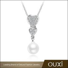 OUXI wholesale fresh water fashion pendant ebay pearl necklace