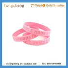 customized printed rubber bracelets